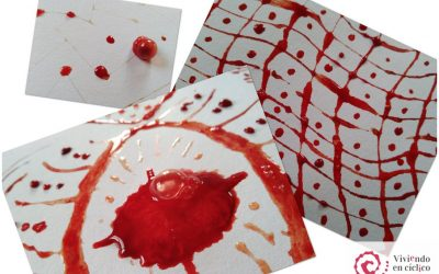 Pintar con sangre menstrual